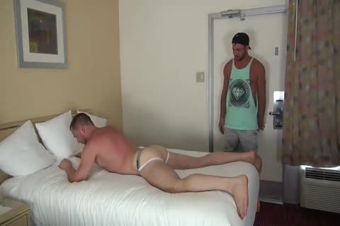 Muscle Bottom acquires Team-nailed In Hotel Room